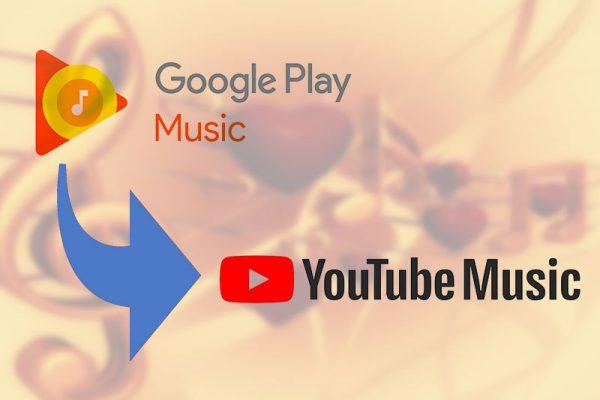 Google Play Music wird Youtube Music